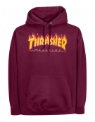 Thrasher Sweat flame maroon S