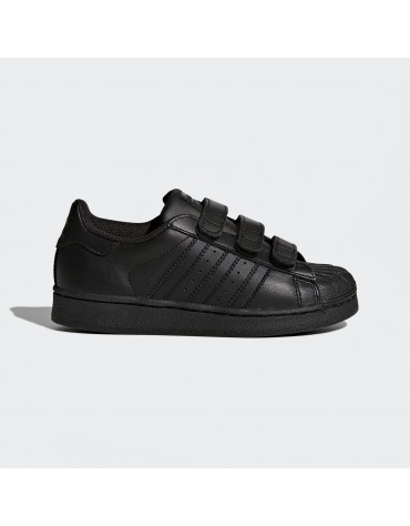 chaussure adidas superstar foundation kids noir