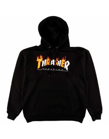 Sweat THRASHER Flame Mag