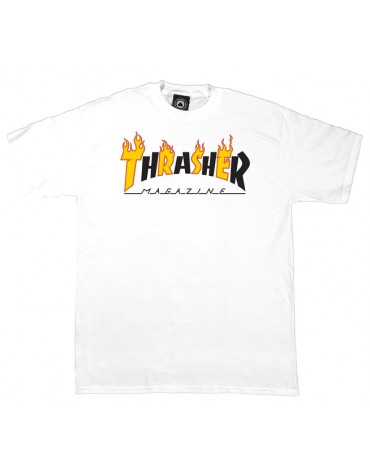 Tee shirt THRASHER Flame Mag