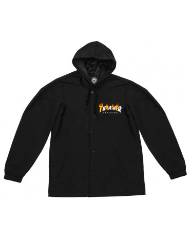 Jacket Coach Flame Logo