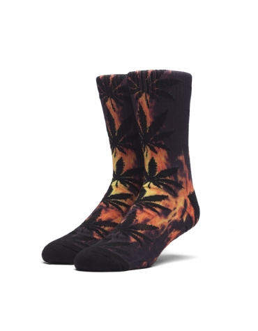Chaussettes HUF Digital Plantlife Hot Fire
