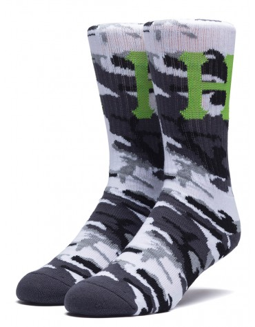 Chaussettes HUF Classic Camo Woodland