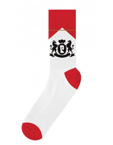 Chaussettes PSOCKADELIC Cigs WHT/RED Psock