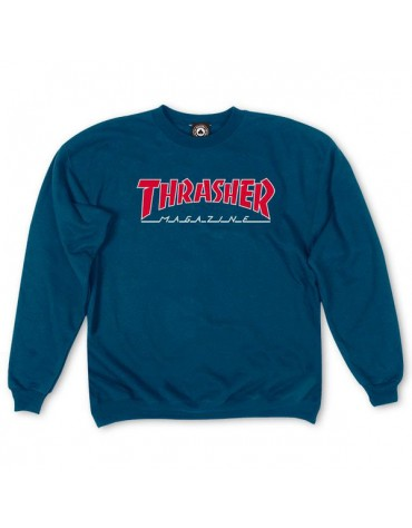 Sweat THRASHER Outlined Navy