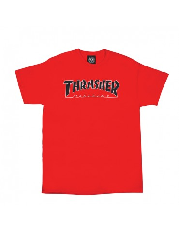 Tee shirt THRASHER Outlined