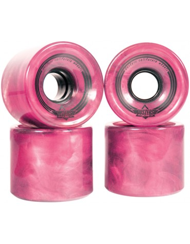 Roue DUSTERS swril pink 65 mm