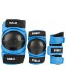 Set de protections BULLET Junior Bleu