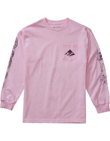 T-shirt à Manches Longues EMERICA Toy LS Rose