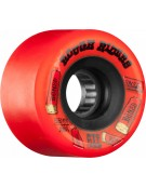 Roues BONES ATF Rough riders RED 56mm
