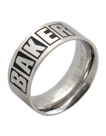Bague BAKER Brand logo L