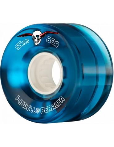 Roues POWELL PERALTA 55mm 80A Bleu