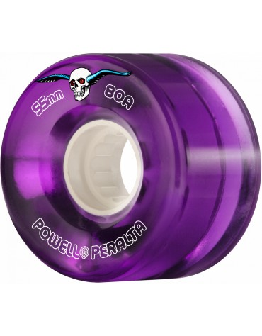 Roues POWELL PERALTA 55mm 80A Purple
