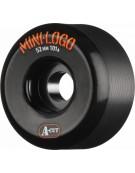 MINI LOGO WHEELS (JEU DE 4) A-CUT BLACK 51MM 101A