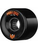 MINI LOGO WHEELS (JEU DE 4) AWOL 59MM X 78A BLACK