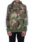 Sweat HUF Hood Camo S