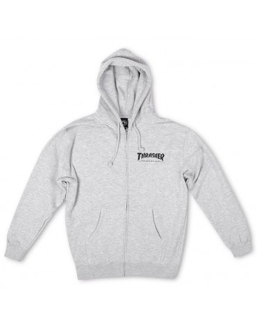 Sweat THRASHER Mag Zip S
