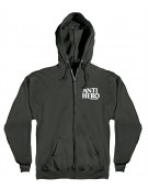 Sweat ANTIHERO Black White Zip M