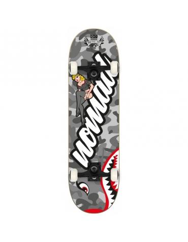 "Skateboard NOMAD Pin Up grey 8"""