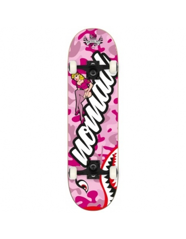 """Skateboard PIN UP PINK COMPLETE 7,875 """""""
