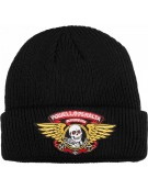 POWELL BEANIE WINGED RIPPER BLACK