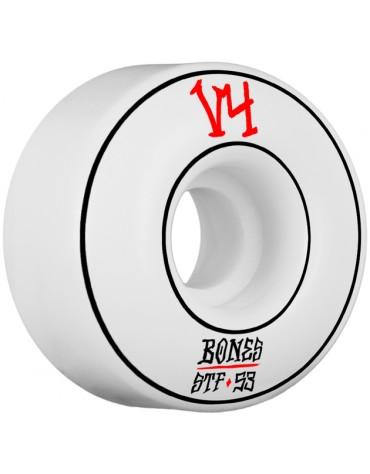 BONES WHEELS (JEU DE 4) STF V4 ANNUALS WHITE 53 X 34MM