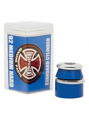 NDEPENDENT BUSHINGS (JEU DE 4) CYLINDER MEDIUM HARD 92A BLU