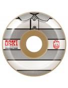 SPITFIRE WHEELS (JEU DE 4) 53MM F4 99D OSKI STRIPE WHITE GRY