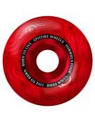 SPITFIRE WHEELS (JEU DE 4) 53MM F4 99D MULTISWIRL RED