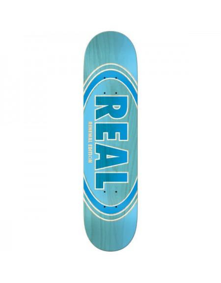 REAL DECK PP OVALDUO FADE BLUE 8.5 X 32.18