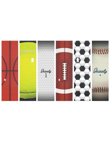 GRIZZLY GRIP PLAQUE SPORTS