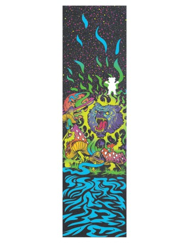 GRIZZLY GRIP PLAQUE BLACK LIGHT