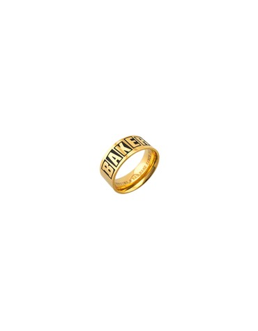 BAKER BAGUE BRAND LOGO RING