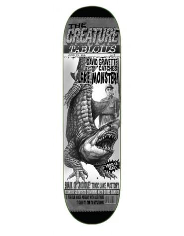 CREATURE DECK TABLOID GRAVETTE 9 X 33