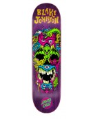 SANTA CRUZ DECK JOHNSON RAD SKULL POWERPLY 8.375 X 32