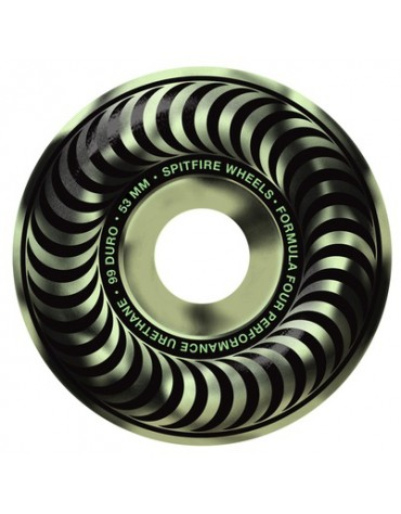 SPITFIRE WHEELS (JEU DE 4) 53MM F4 99D STAY LIT GLOW SWIRL