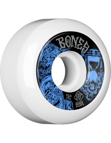 BONES WHEELS (JEU DE 4) STF 52MM V5 TIME BEASTS EASY 99A