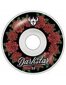 DARKSTAR WHEELS (JEU DE 4) 53MM IN BLOOM BLACK