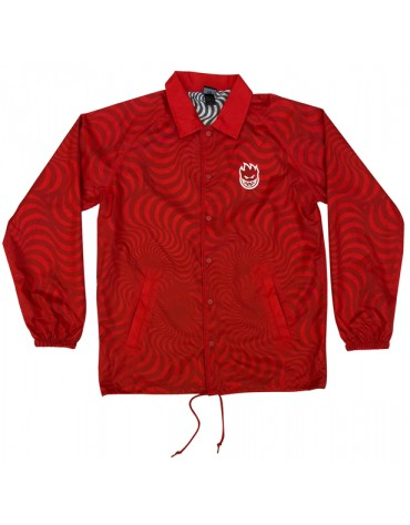 SPITFIRE JACKET SWIRL RED