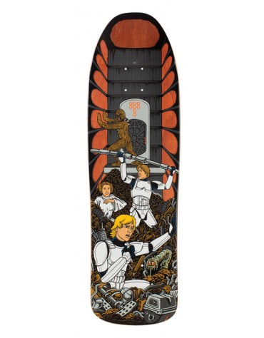 SANTA CRUZ DECK STAR WARS TRASH COMPACTOR COLLEC 31.7 X 9.3
