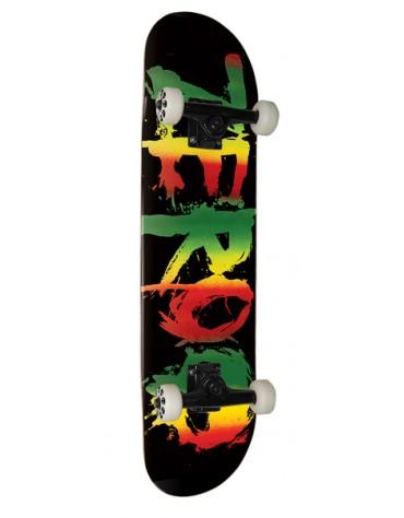 Skate ZERO Complet Blood Rasta 7.625