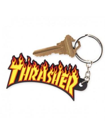 THRASHER KEYCHAIN FLAME