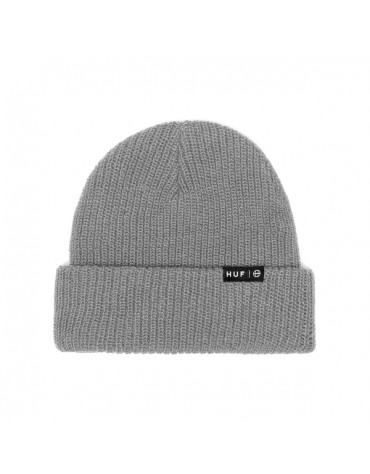 HUF 1 BEANIE USUAL ESSENTIAL GREY HEATHER