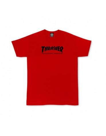 tee shirt thrasher rouge youth large