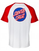 Santa Cruz Cut and Sew Dot Pocket Raglan