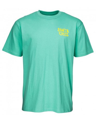 Santa Cruz T Shirt Hand Wall Tee
