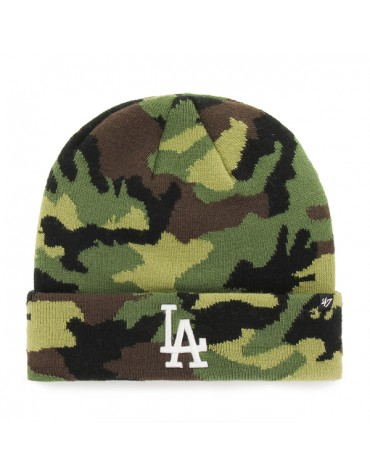 47 BEANIE MLB LOS ANGELES DODGERS GROVE CUFF KNIT