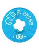RICTA WHEELS (JEU DE 4) 51MM SUPER CRYSTAL BLUE 99
