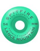 SPITFIRE WHEELS (JEU DE 4) 54MM F4 99D CLSC MOUNTAIN POOL