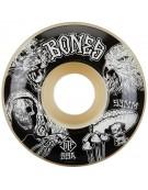 BONES WHEELS (JEU DE 4) STF 53MM V1 NIGHT WATCH 99A EASY